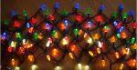 Filet de lumières de Noël avec couleurs indépendantes